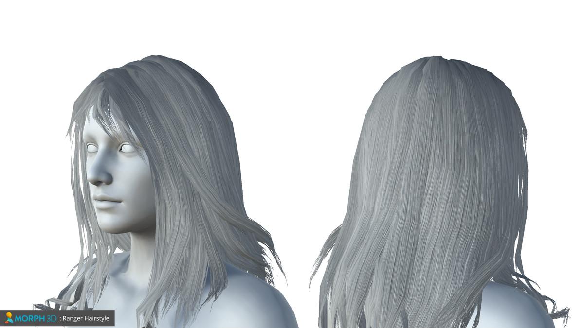 Mcs Female Hair Pack 2 Asset Store