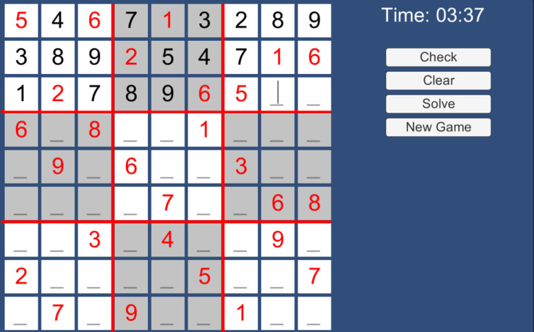 Sudoku Generator - Asset Store