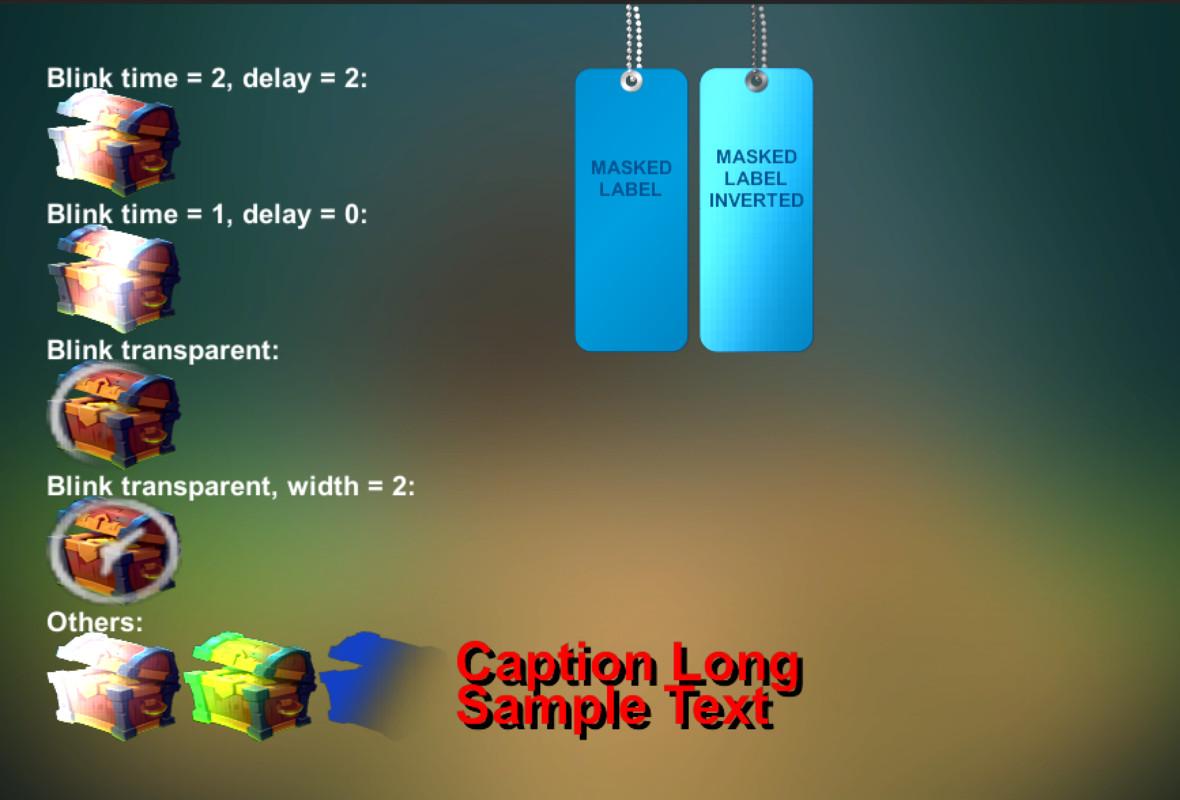 56aa983b fdf4 4d52 a03e 01d9498635cb scaled - Blink/Gloss uGUI 3D v1.3 - unity扫光蒙板材质