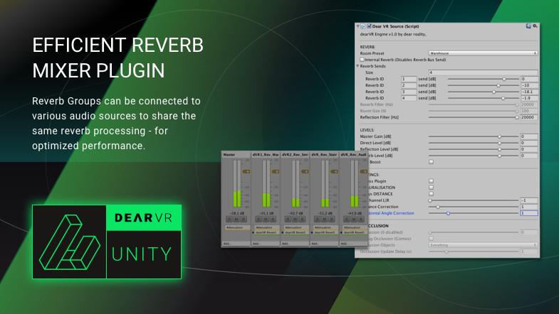 dearVR - 3D audio reality engine - Asset Store
