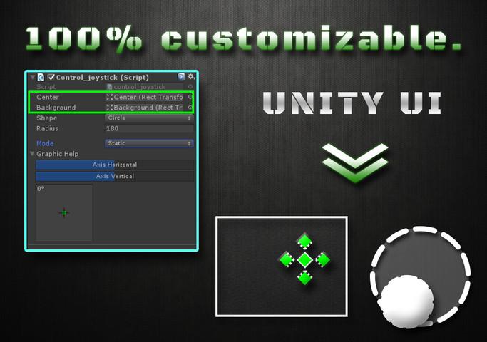 Joystick Script UI - Asset Store