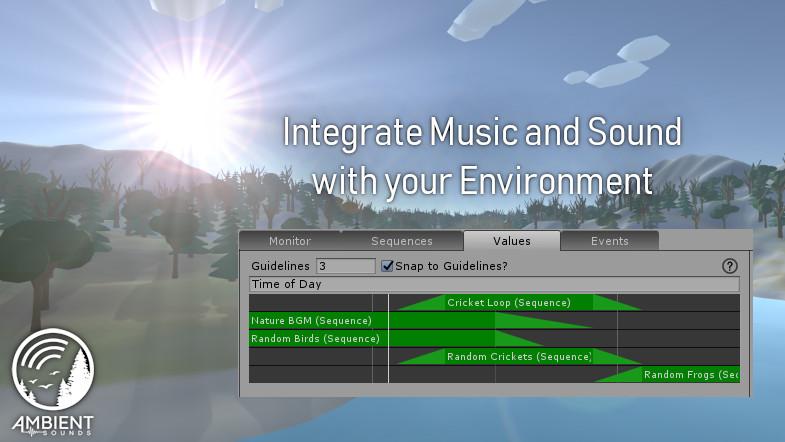 Ambient Sounds - Interactive Soundscapes - Asset Store