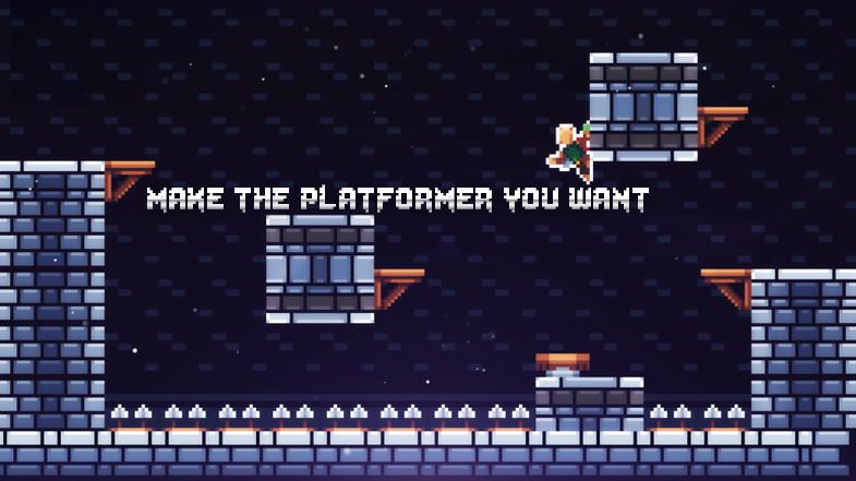 Pixel Platformer Engine - Responsive 2d Platformer Toolkit v1.1