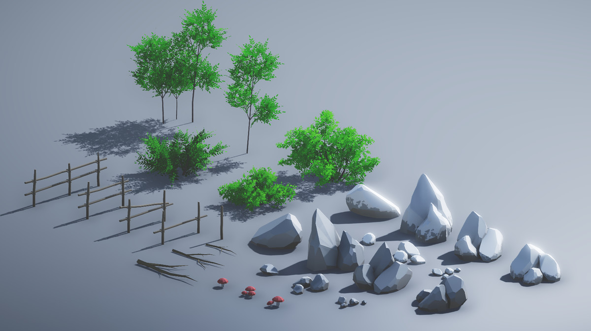 Stylized Forest Environment - Asset Store