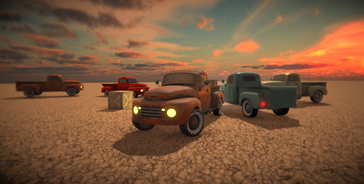 6902db4d 0b64 4cfd 8fe5 9f8c1df48299 scaled - Old Pickup Truck PBR v1.0 - unity老卡车模型