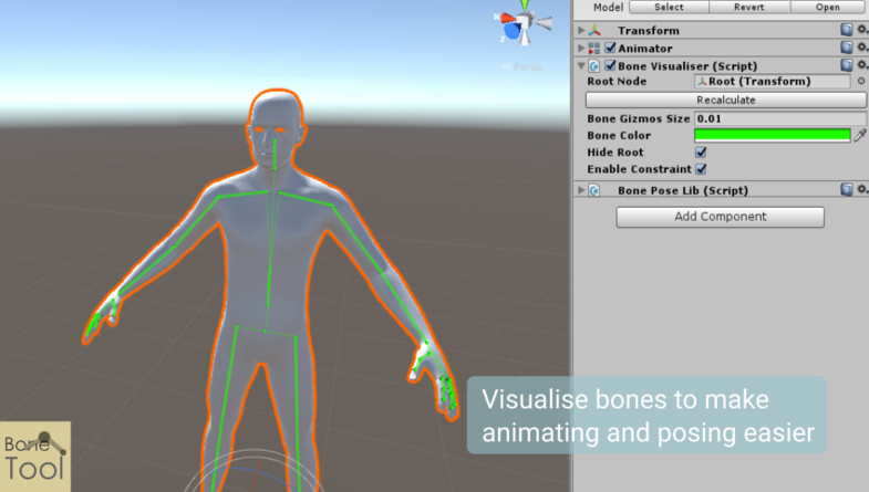 BoneTool - Bone Visualizer - Asset Store