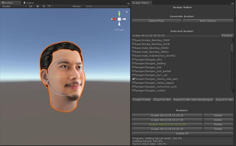 Avatar Maker Pro - 3D avatar from a single selfie - Asset Store
