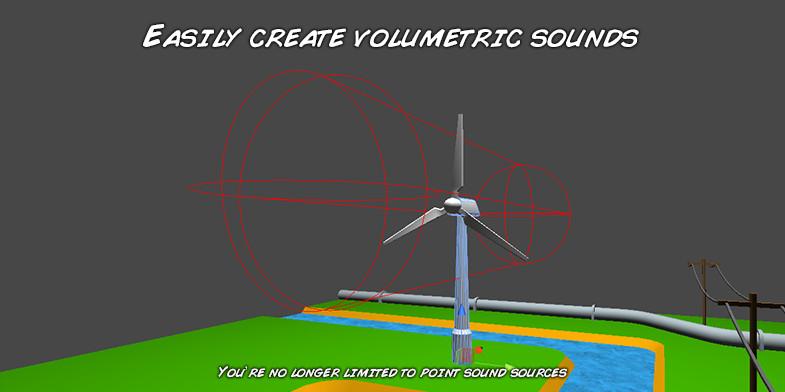 Volumetric Audio - Asset Store