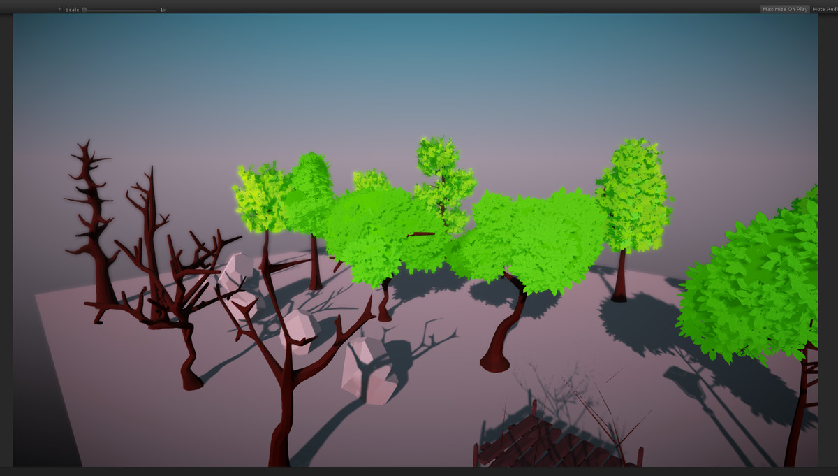 Stylized Low Poly Nature asset v2.0 - unity低聚自然环境