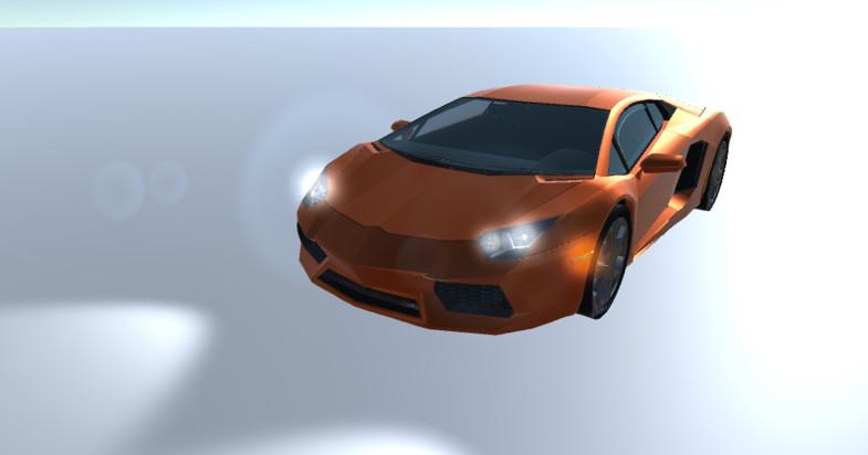 Sport Car - 3D model - Asset Store