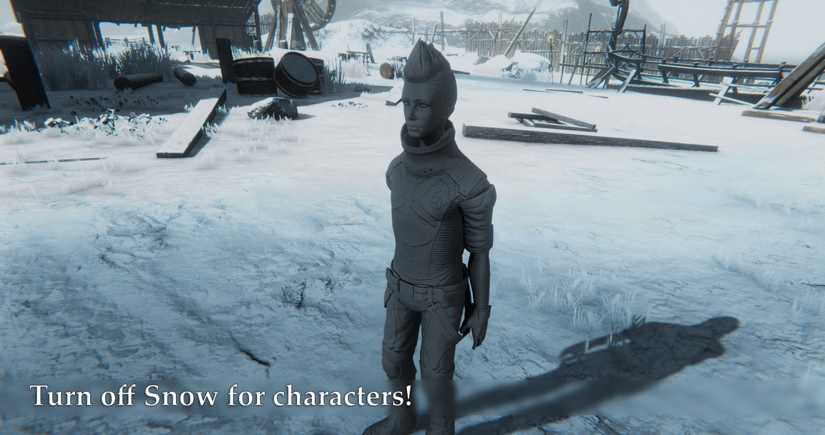 Screen Space Snow - Asset Store