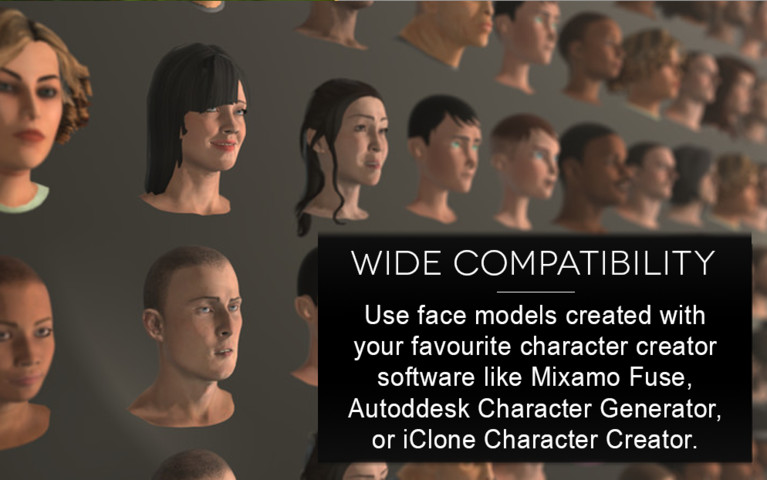 Cinema Face Cap - Facial Capture for Unity - Asset Store