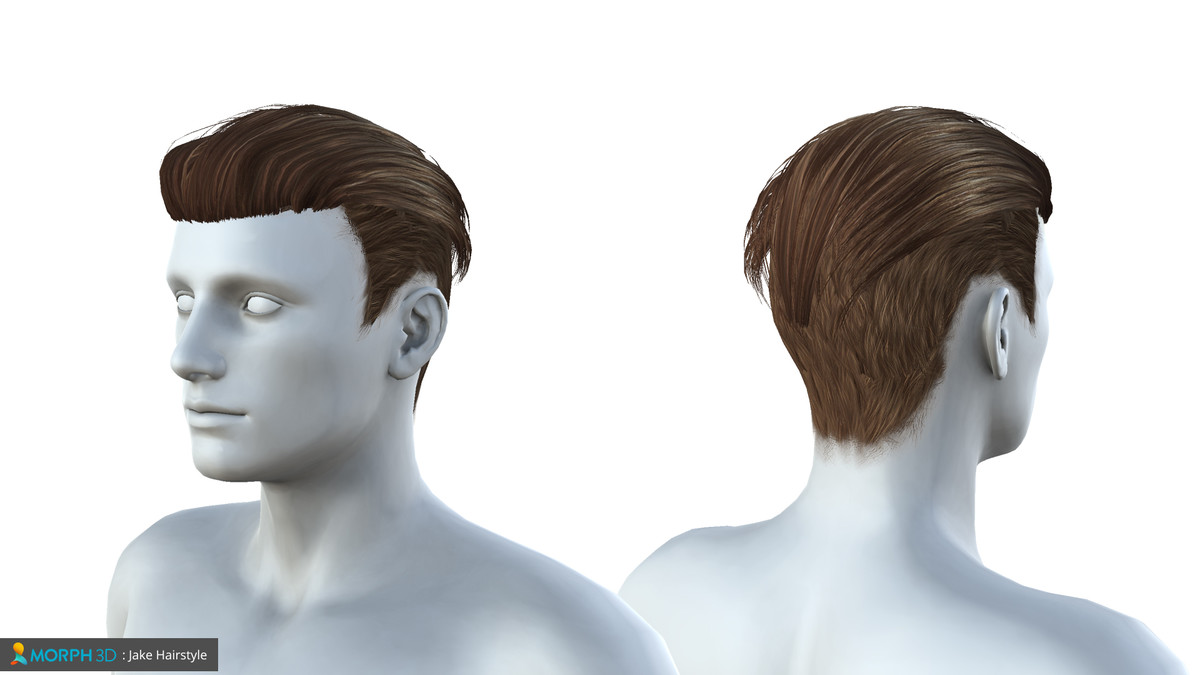 Mcs Male Hair Pack 2 Asset Store