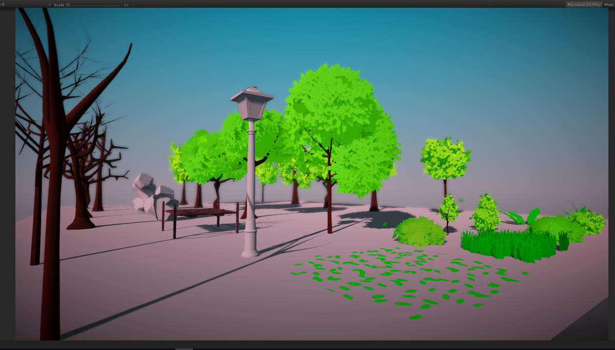 7bbc51f8 3930 4d2d 96e5 2c209dbff870 scaled - Stylized Low Poly Nature asset v2.0 - unity低聚自然环境