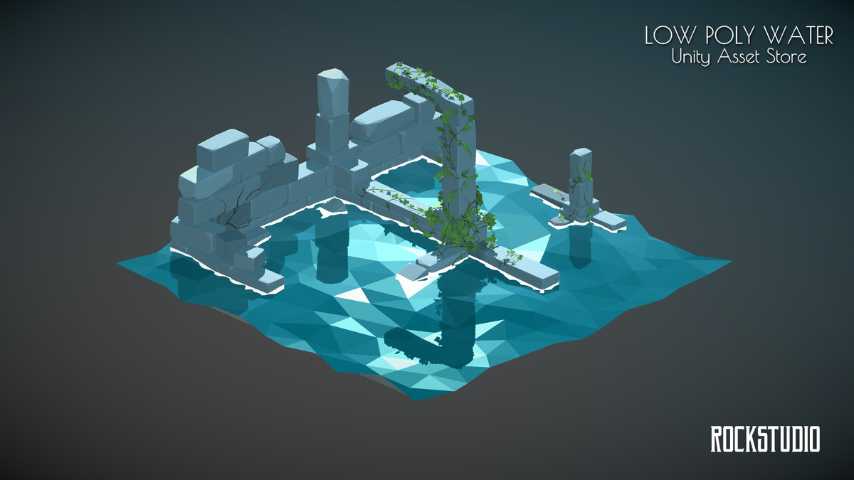Low Poly Water GPU - Asset Store