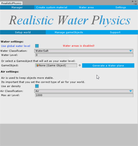 Realistic Water Physics 3 - Asset Store