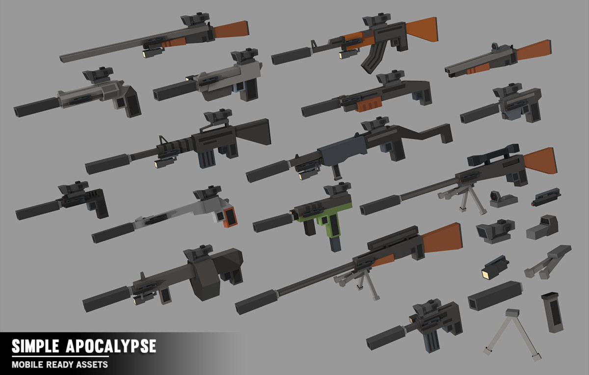 Simple Apocalypse - Cartoon Assets - Asset Store