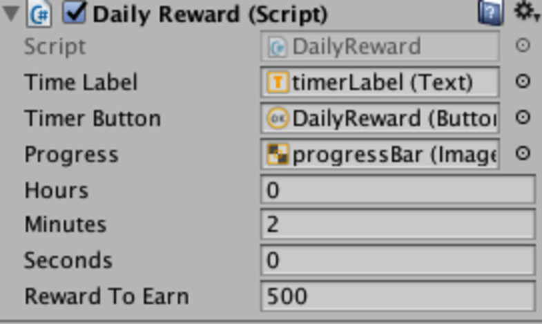 Daily Reward System Internet Time & Date - Asset Store