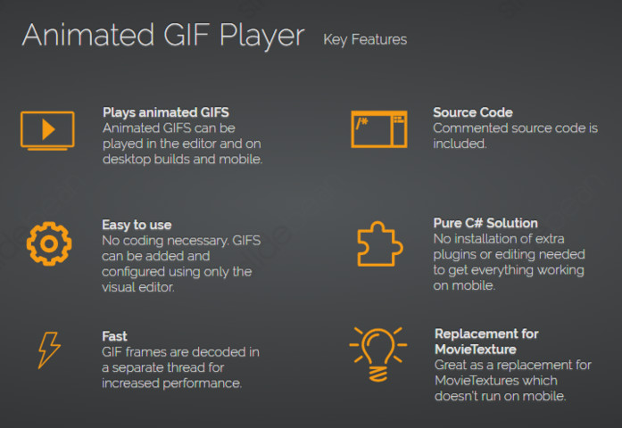 Animated GIF Player - Asset Store