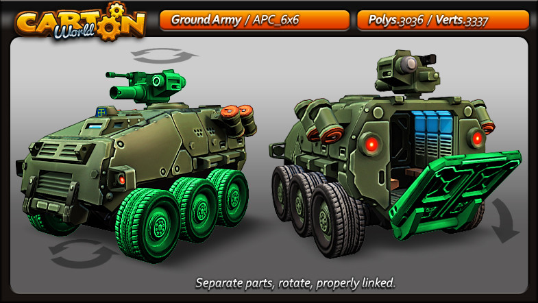 Army 6x6 Parts