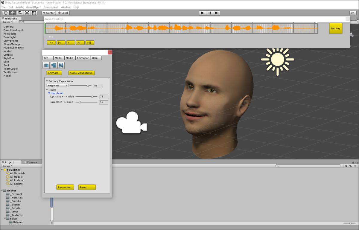 NaturalFront 3D Face Animation Plugin Free - Mac - Asset Store