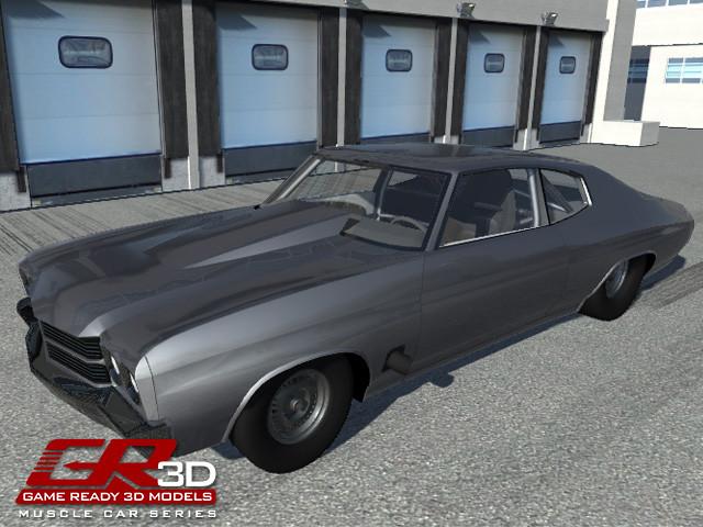GR3D Drag Racing Muscle Car 072016MSCL - Asset Store