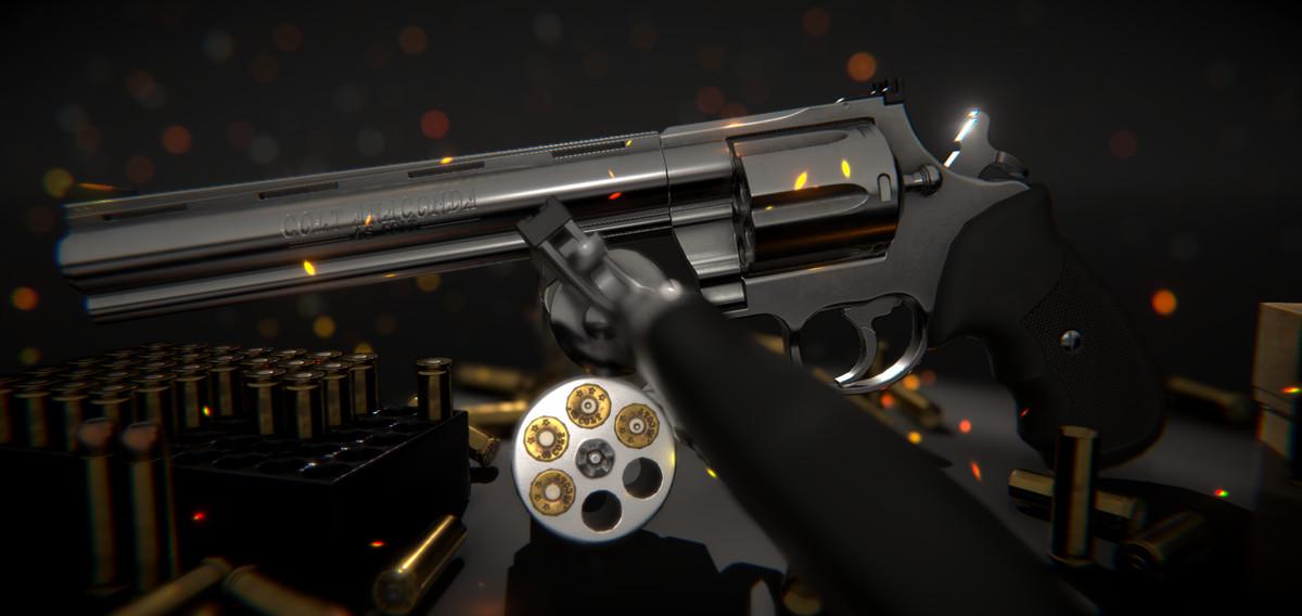 Colt Anaconda Revolver - Asset Store