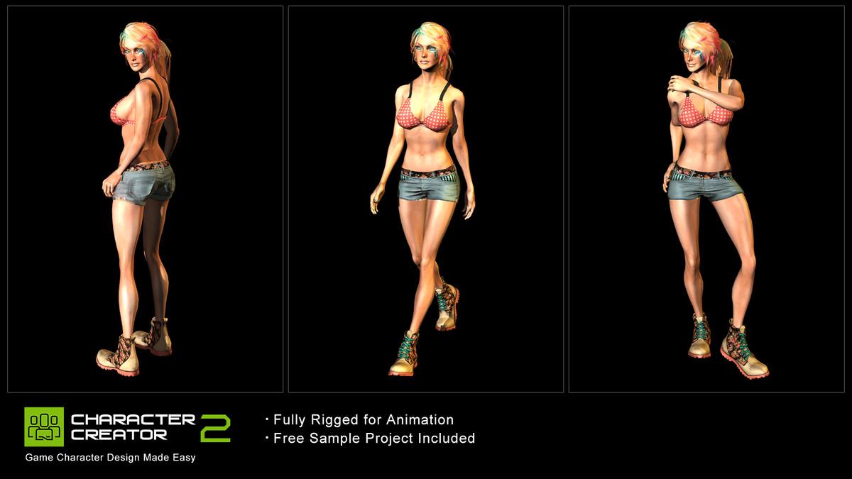 Izzy - iClone Character - Asset Store