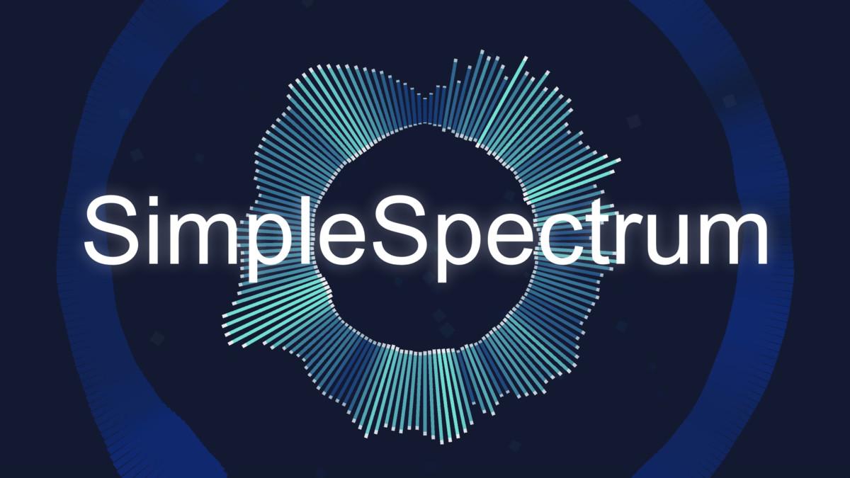 SimpleSpectrum - Free Audio Spectrum Generator (+WebGL