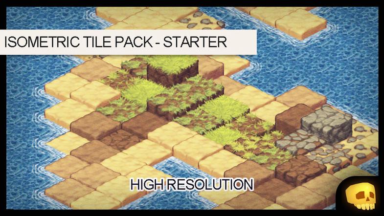 2D Isometric Tile Starter Pack - Asset Store