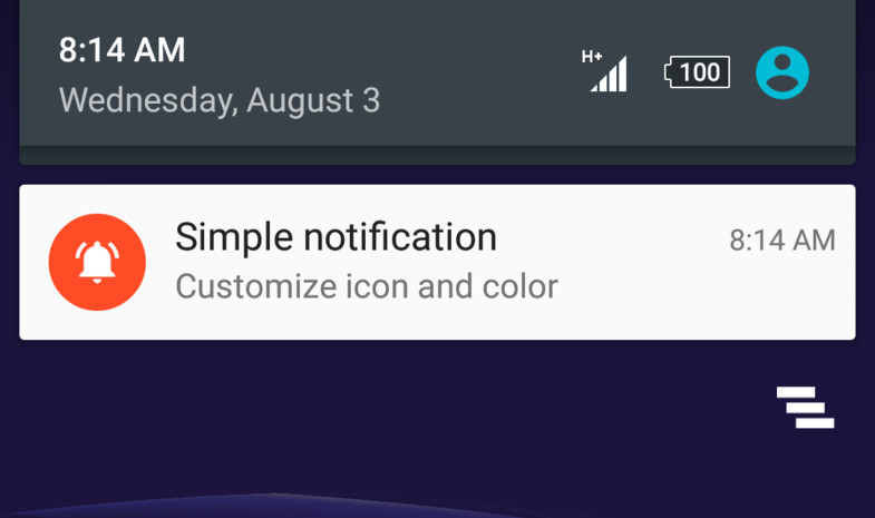 Simple Android Notifications Free • Tools/Integration • ModelAssets