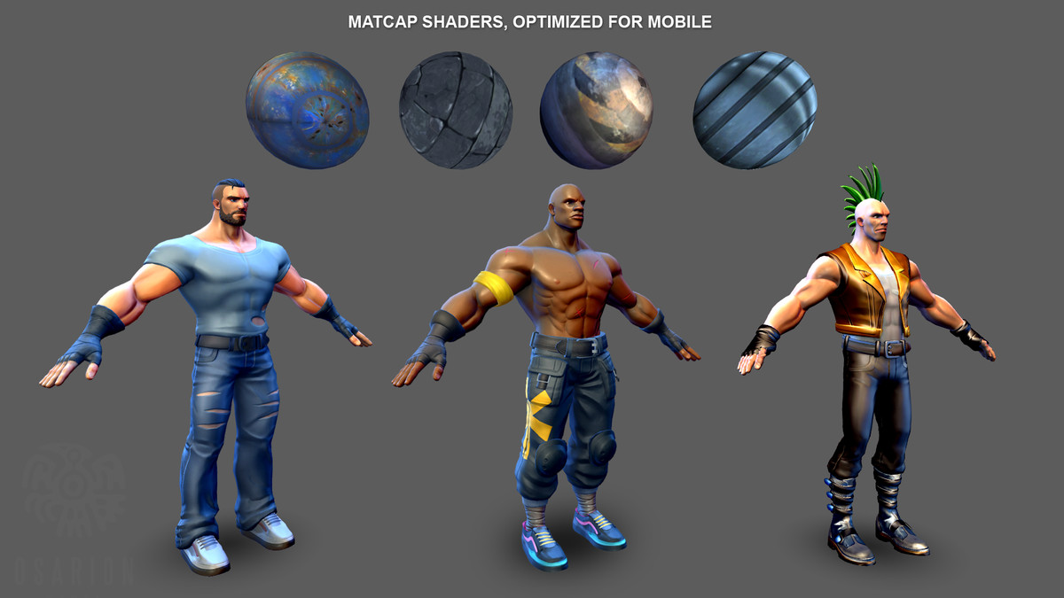Beat Em Up Game Template 3d Asset Store
