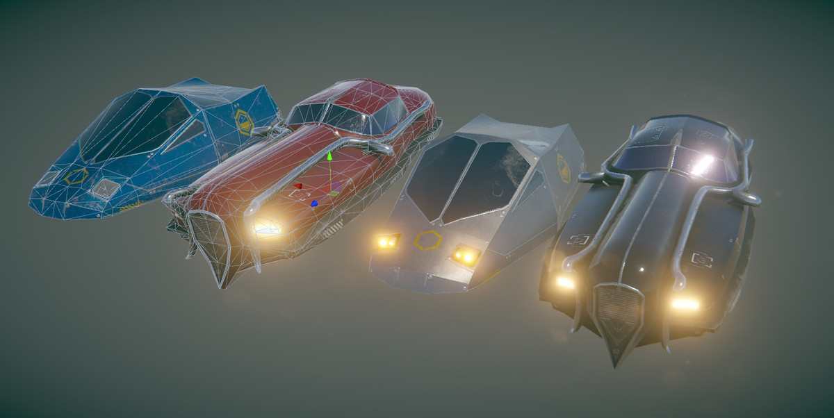 Fly Cars Pack 2