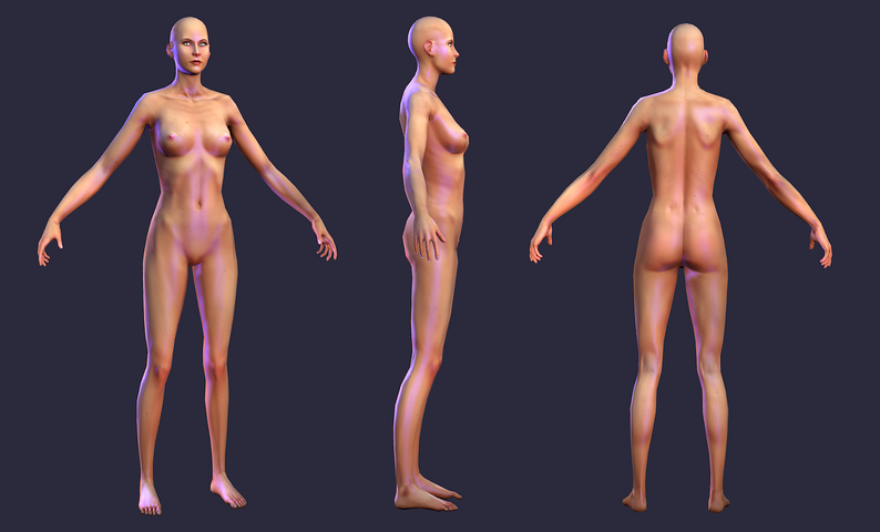 Human Female Character - Asset Store