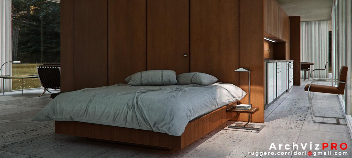 a100fa25 8a53 4693 80f8 138a27a3af78 scaled - ArchVizPRO Interior Vol4 v1.2 - Unity现代房子模型