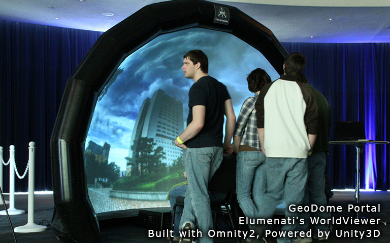 Omnity Projection Mapping for Immersive Environments - Asset Store