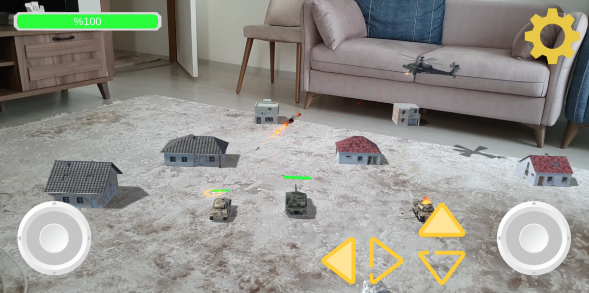 AR Game Simulation Templates