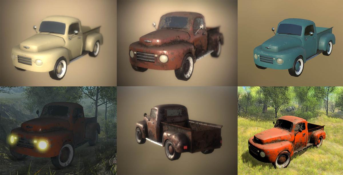 Old Pickup Truck PBR v1.0