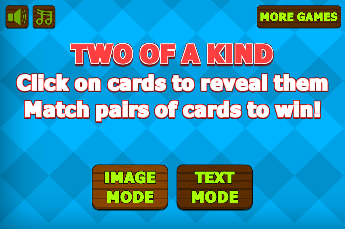 Two Of A Kind - Matching Game Template - Asset Store