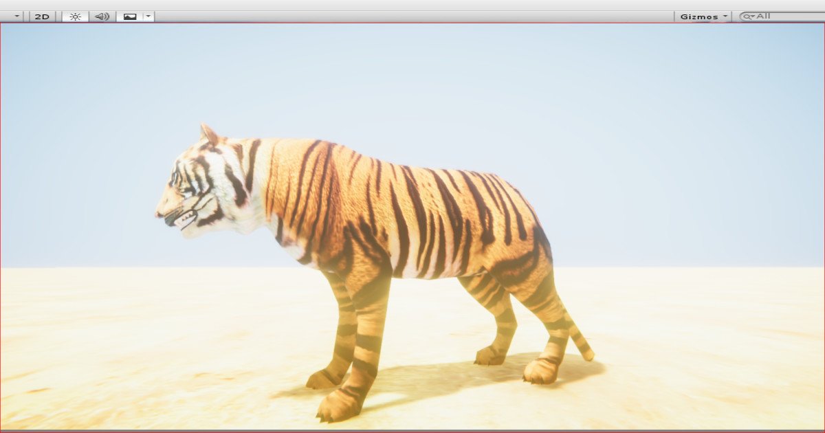 Africa Animals Pack Low Poly V1 • 3D/Characters/Animals