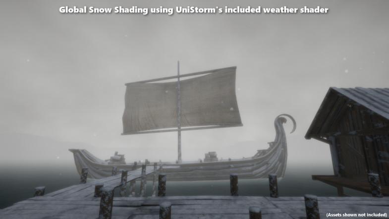 UniStorm v3.0.1.1 - unity动态日夜天气系统