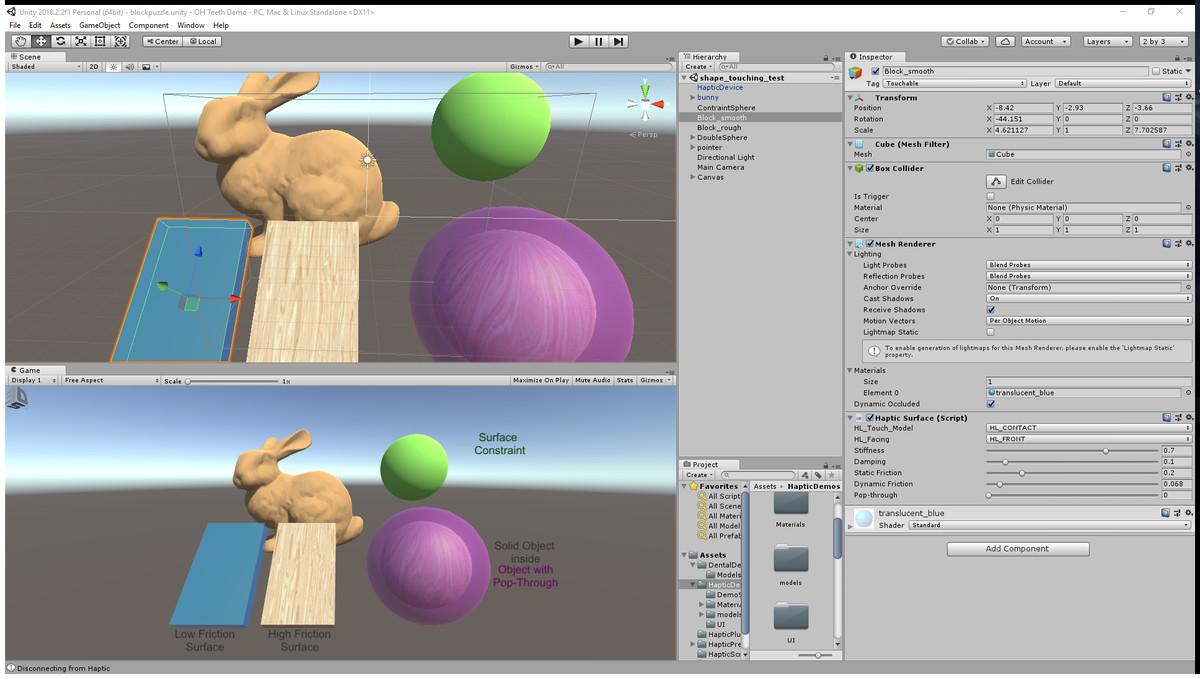 3D Systems Openhaptics® Unity Plugin - Asset Store