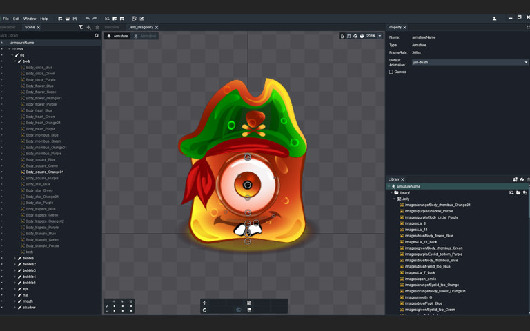 2D Anim Jelly Pack - Asset Store