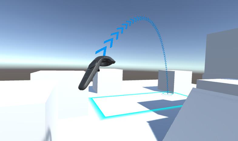 VR Arc Teleporter - Asset Store