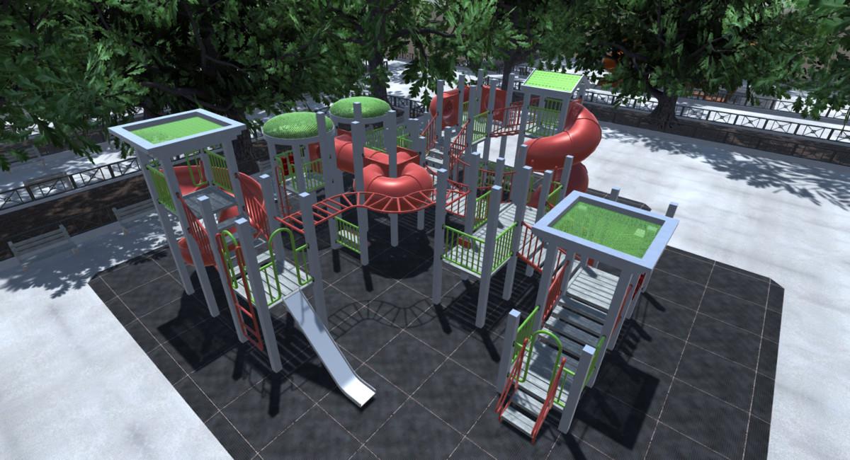 Playground Modular Build Kit - Asset Store