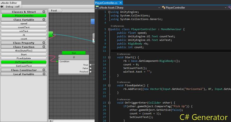 uNode - Visual Scripting - Asset Store