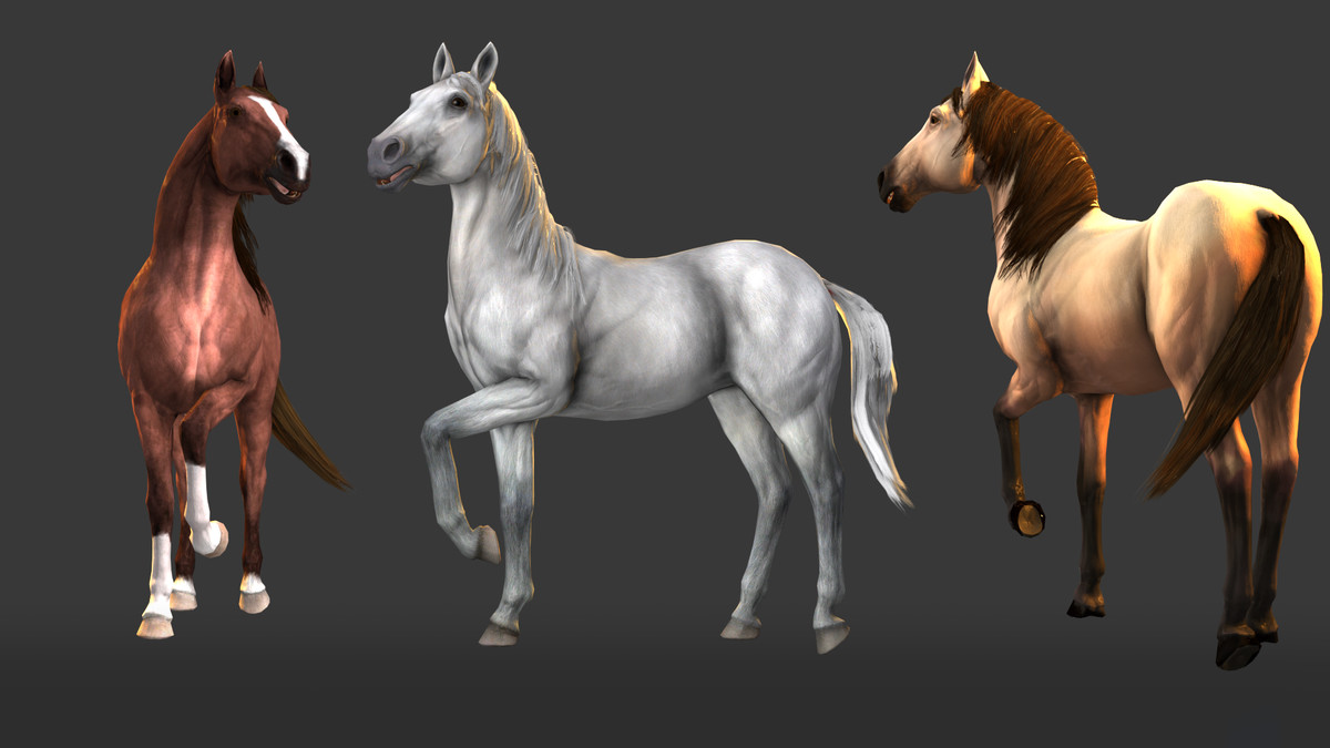 Horse Animset Pro (Riding System) - Asset Store