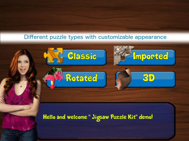 Jigsaw puzzle - Creator Kit - Asset Store
