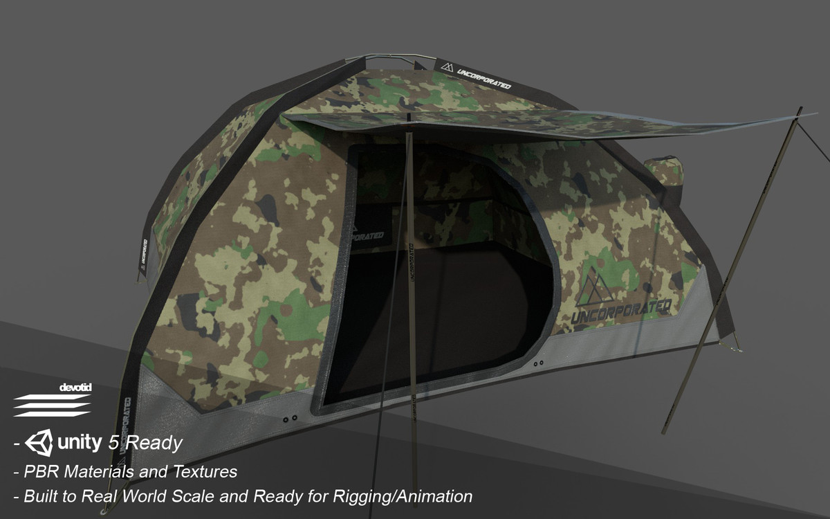 Camping Survival Pack 2 - Asset Store