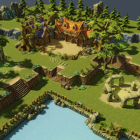 Fantasy Environment Level Set - Asset Store
